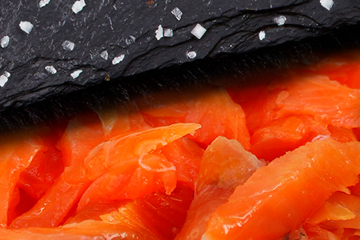 salmon ahumado - Ahumados